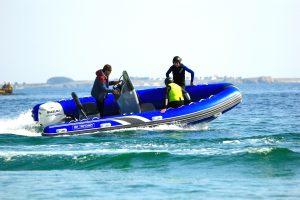 cours kitesurf en pleine eau