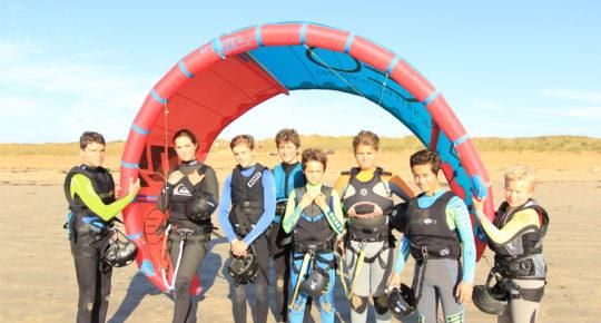 kite surf pour groupe enfant