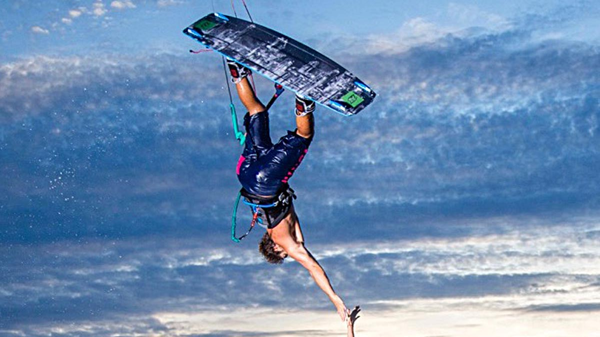 Cours particulier de kitesurf avec NKS