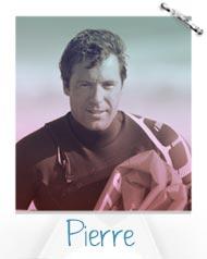 Pierre Romain de l'école de kitesurf NKS