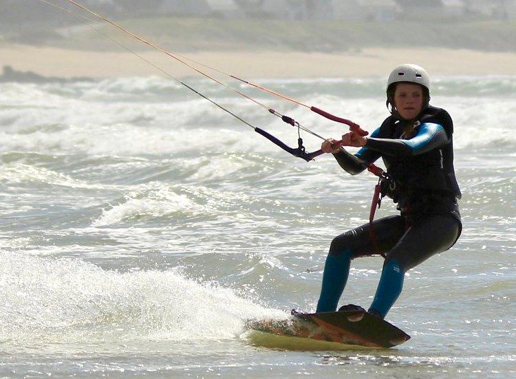 ecole de kite jeune à l'année