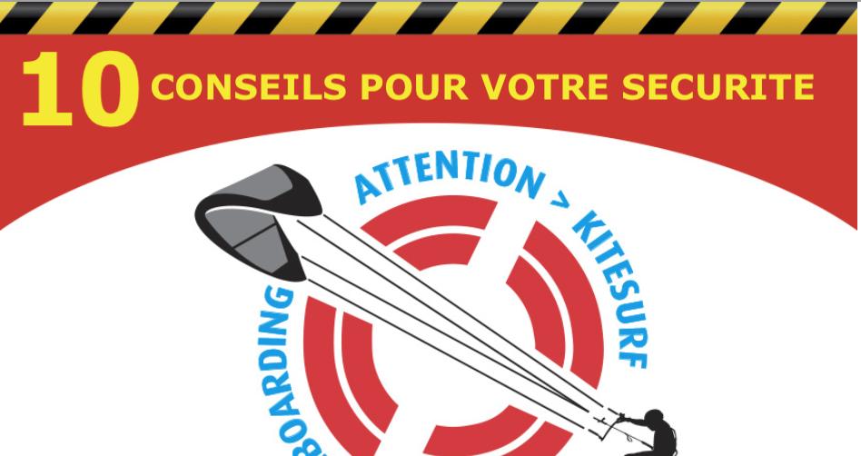conseil sécurité danger kitesurf