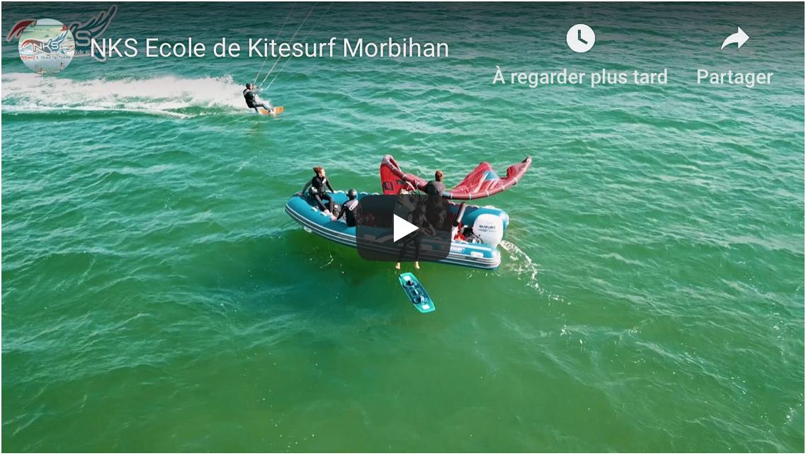 vidéo kitesurf carnac quiberon